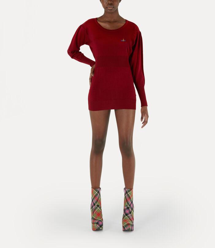 Maria Dress Red 2