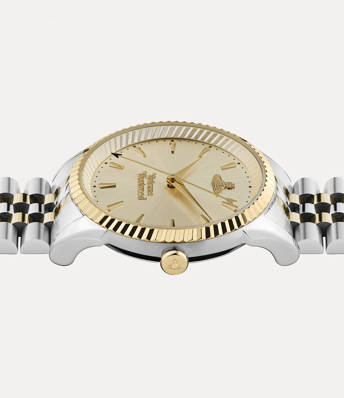 Seymour Watch Champagne/Silver 3