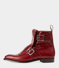Seditionary Punk Boots Red