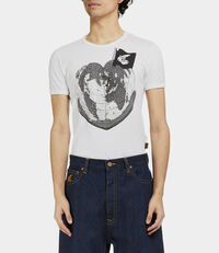 Classic T-Shirt Heart World T-Shirt White