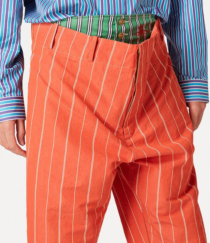 Alien Trousers Terracotta 5