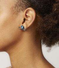 Jordan Earrings Teal Pearl