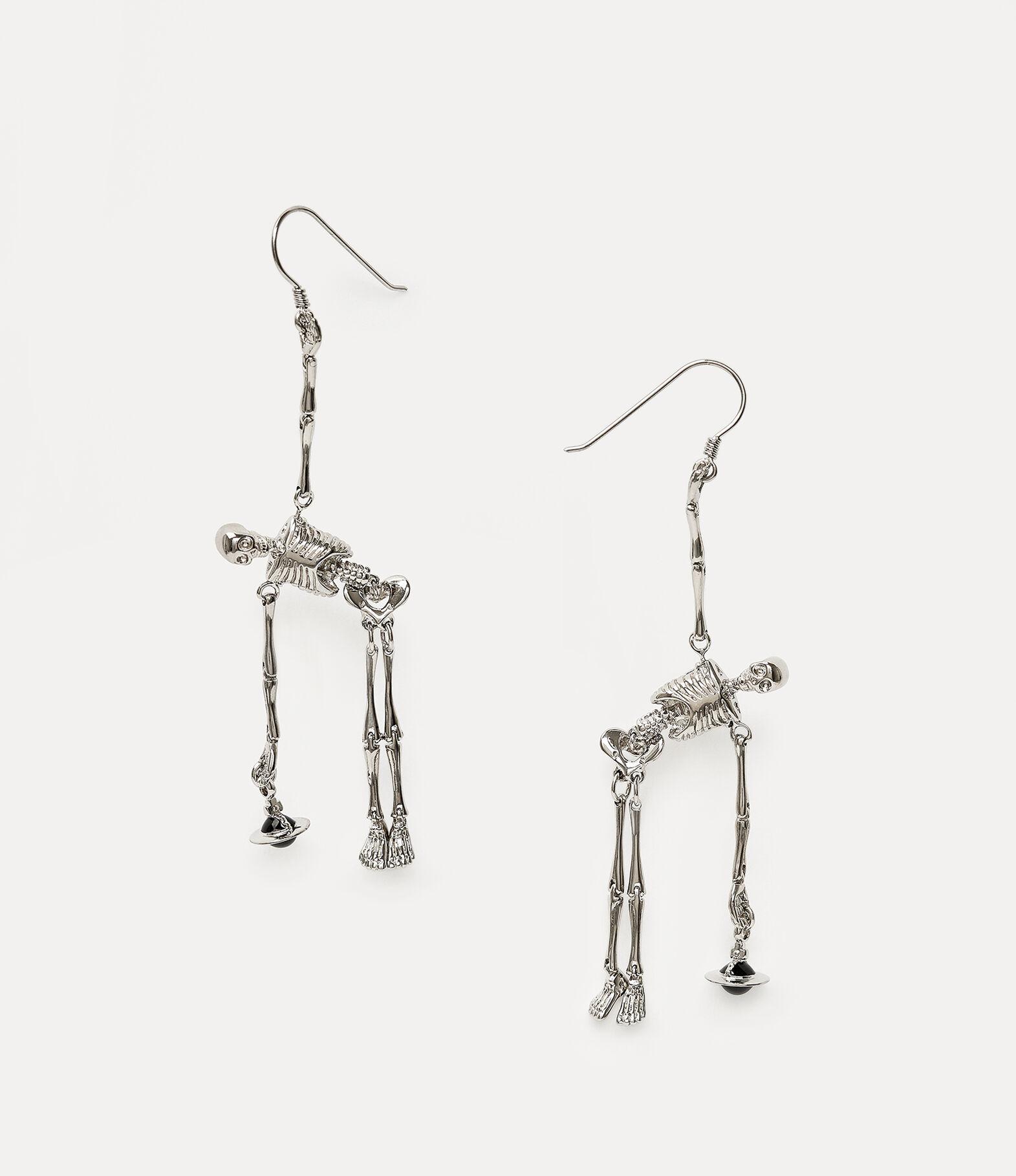 Skeleton Earrings