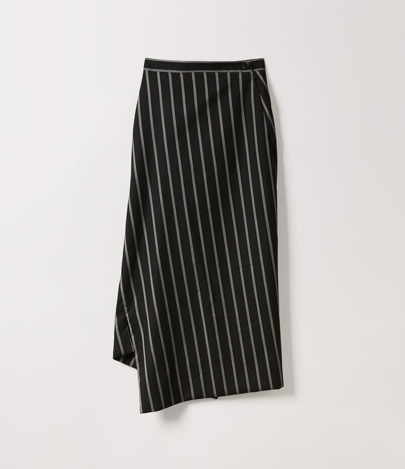 ebabe27733 Midi Infinity Skirt Black/White Stripes Add To Wishlist