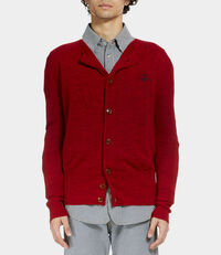 War Cardigan Red