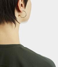 Small Rosemary Earrings Golden Tone