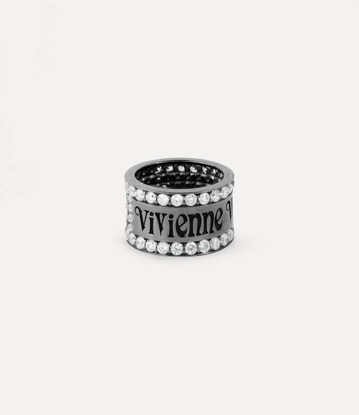 Fosco Ring Gunmetal-Tone 1