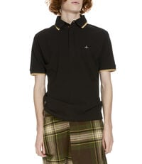 Classic Overlock Polo Shirt Black