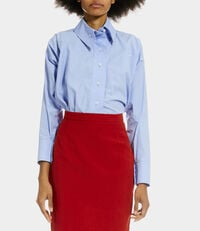 Squiggle Krall Shirt Blue
