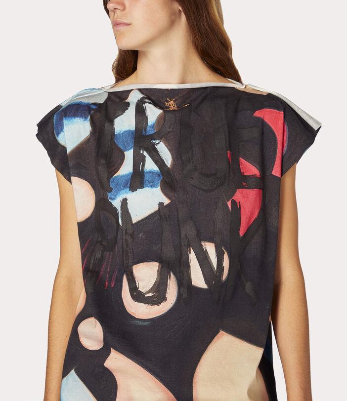 Lina Square T-Shirt Chrissie Hynde Print 9