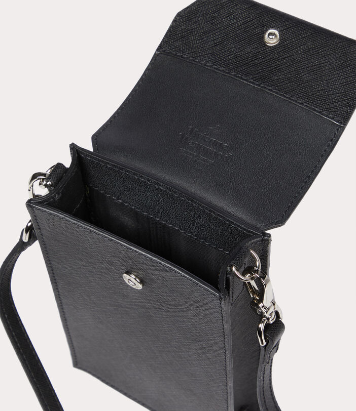 Sofia Phone Bag Black 5