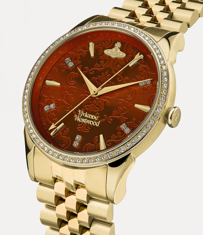 Wallace Watch Red/Gold 2