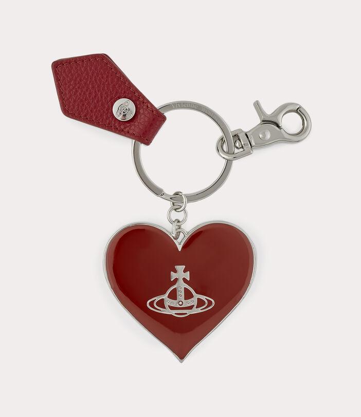 Jordan Mirror Heart Orb Red 1