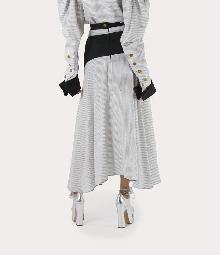 Albertine Skirt White/Black 4