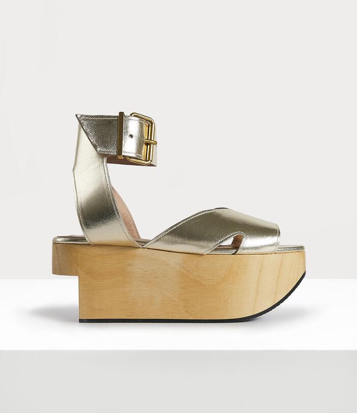 Rocking Horse Pagan Sandal Gold 1