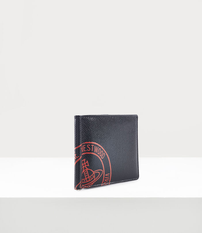 Kent Man Wallet With Coin Pocket Black/Red 2