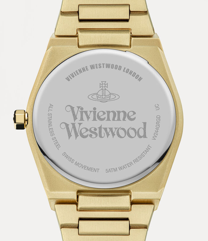 Limehouse Watch Green/Gold 4
