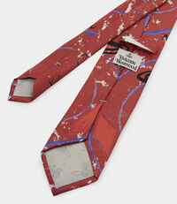 Save the Ocean Tie Red