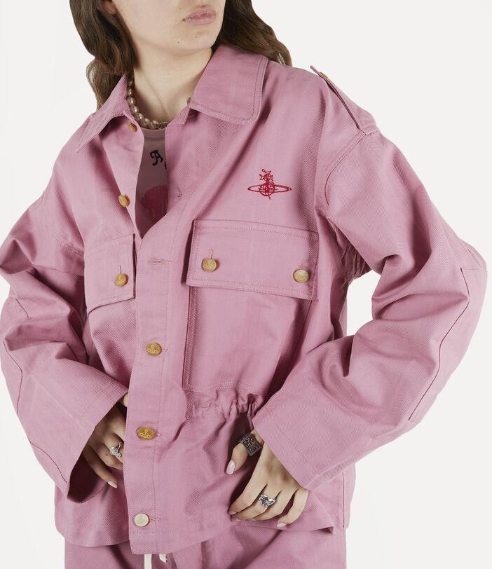 Ben Overshirt Pink Check Herringbone 5