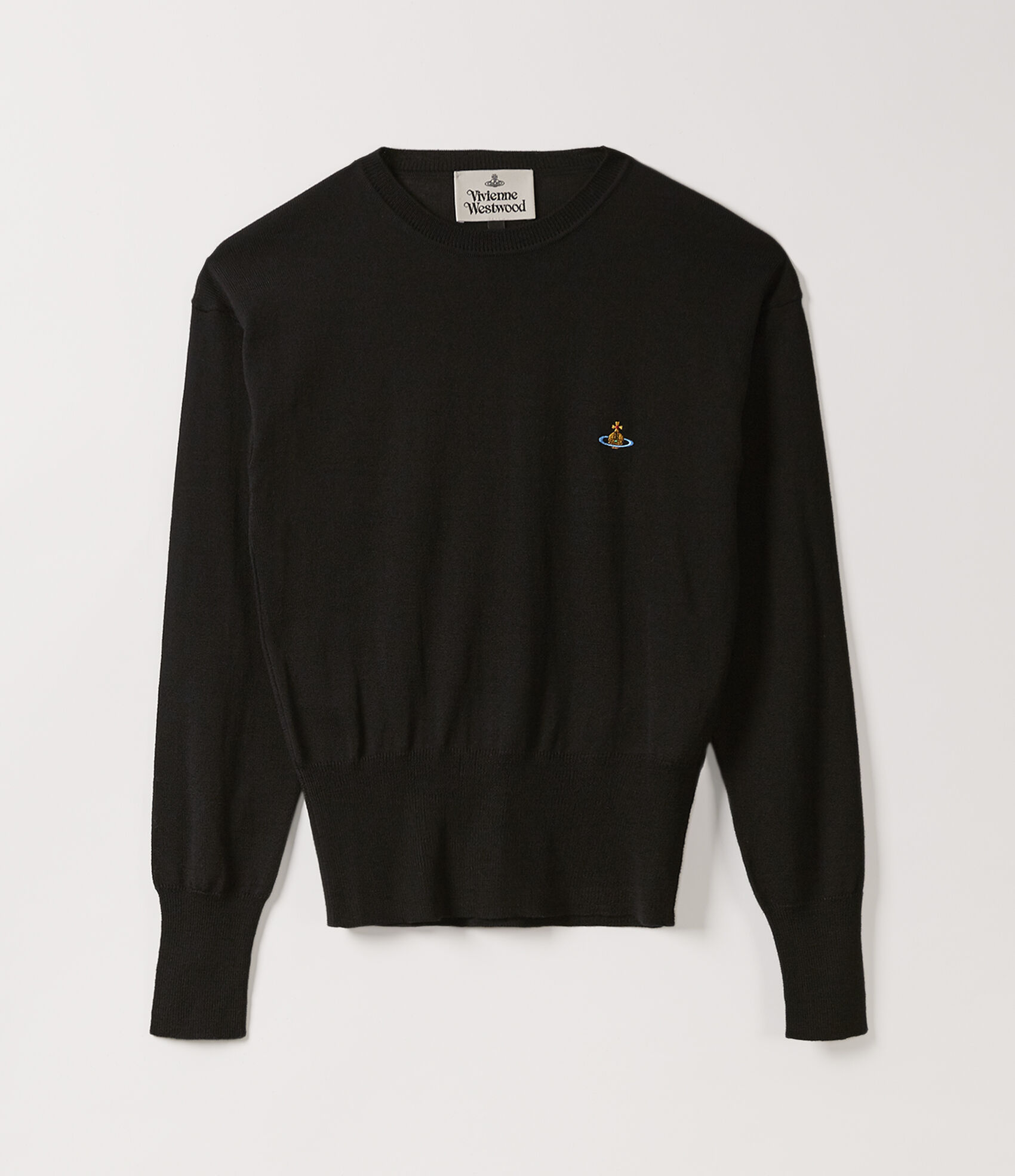 Classic Knit Sweater Black  by Vivienne Westwood