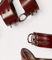 Siouxsie Sandal Oxblood