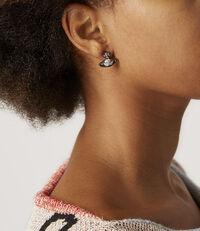 Sorada Bas  Earrings Gunmetal Tone