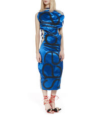 Superbo Dress Blue