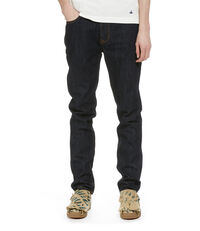 Classic Tapered Jeans Blue Denim