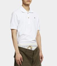 New Polo Short Sleeved Shirt White