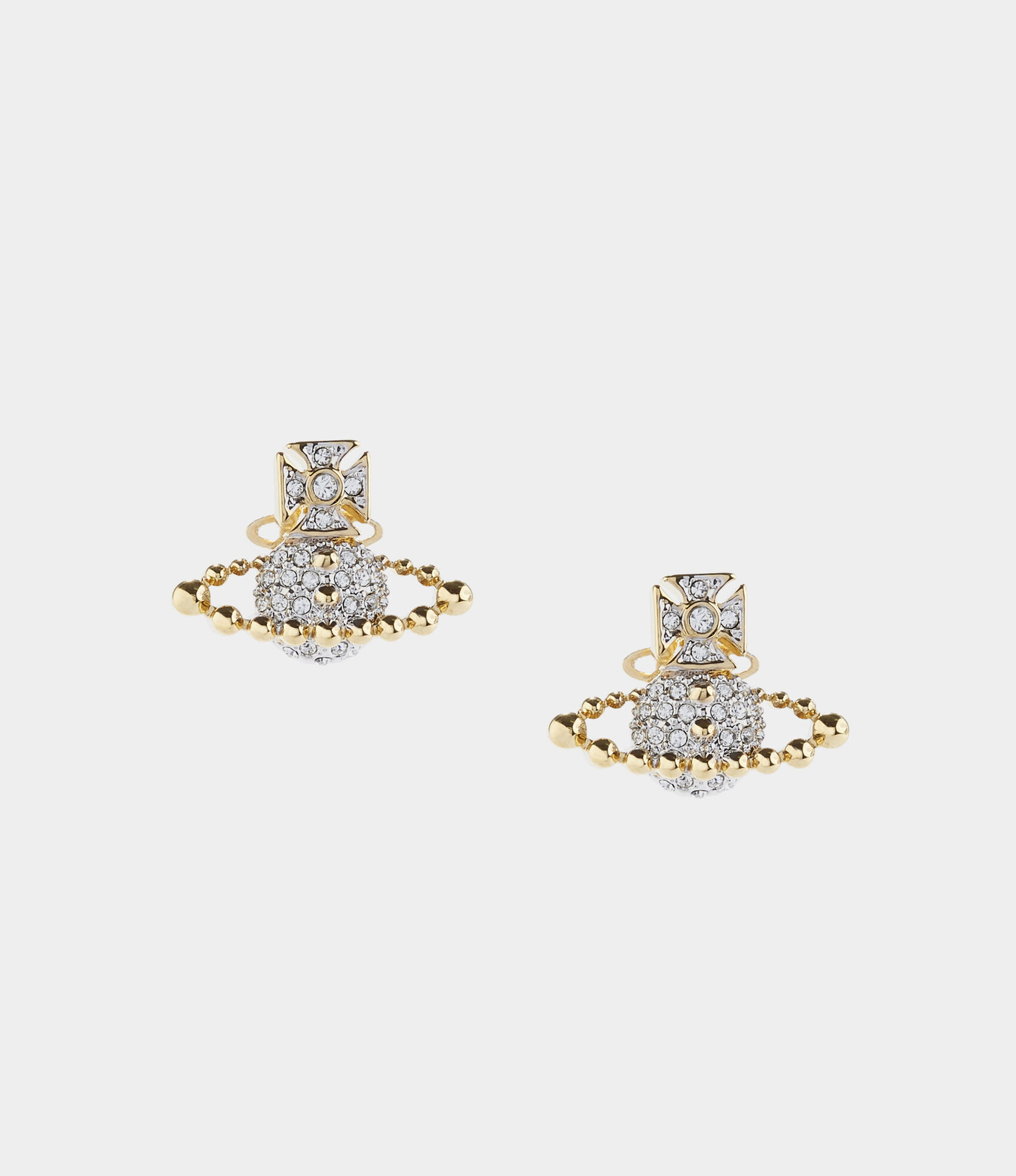 110e2f2516f267 Lena Bas Relief Earrings Gold/Silver Tone