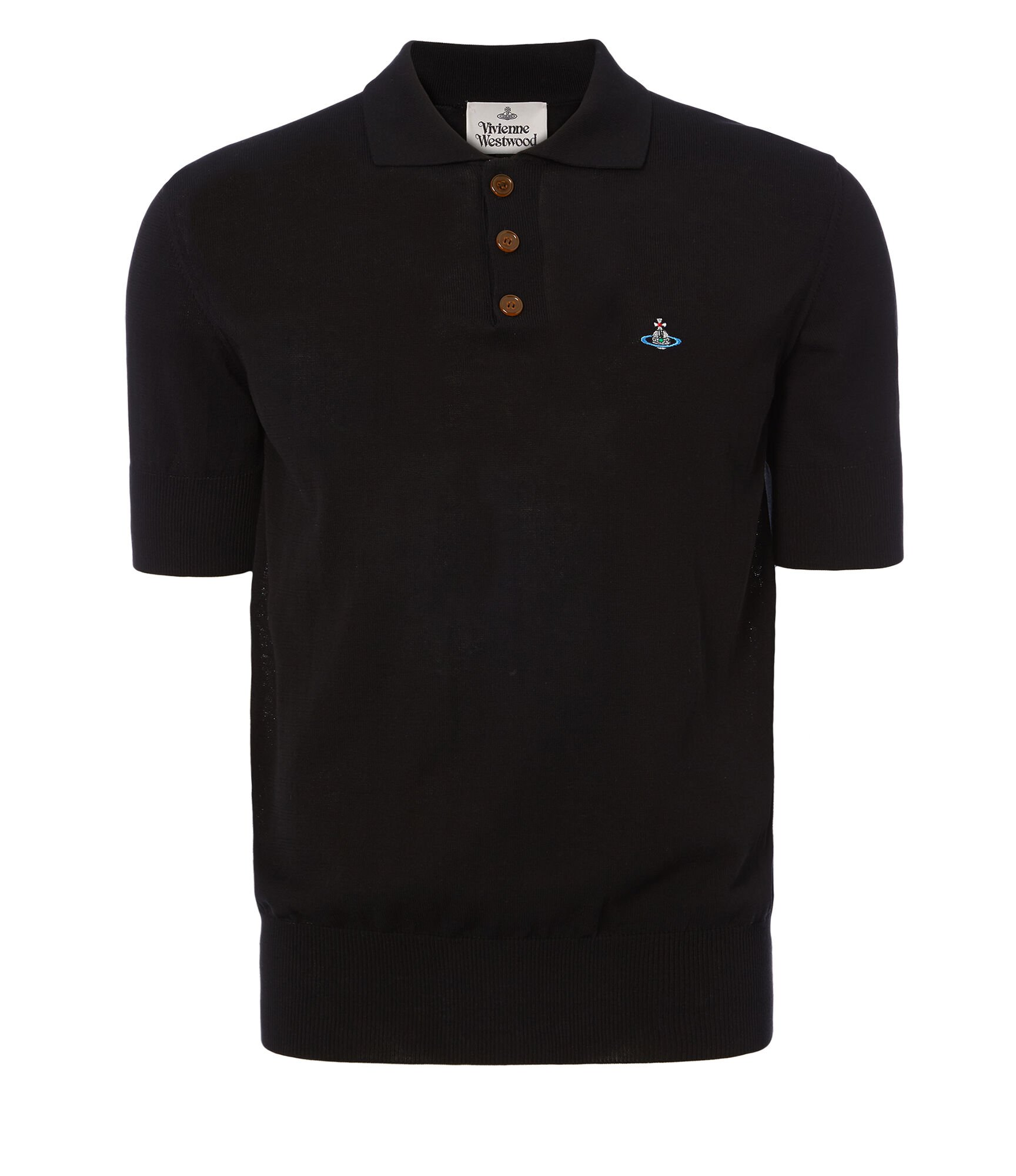 Spring Polo Shirt Black