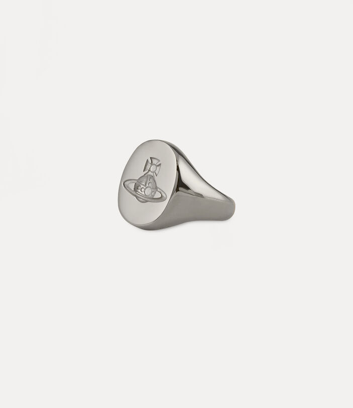 Seal Ring Silver-Tone 2