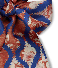 Squiggle Neckwear Tie Red
