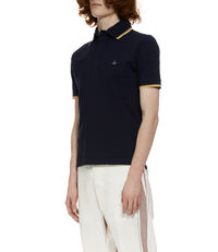 Classic Overlock Polo Shirt Navy
