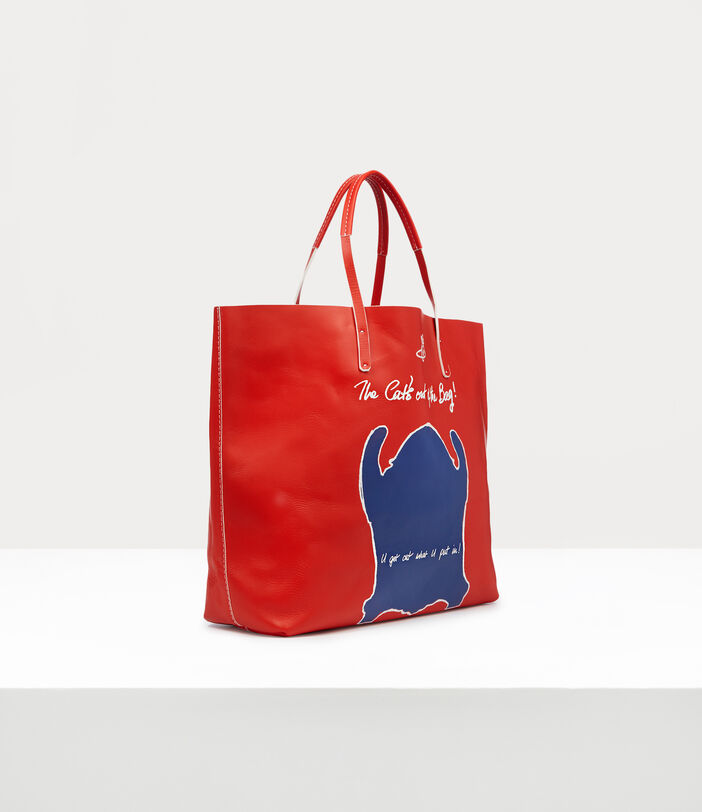 U Get Out What U Put In!  Shopper Red 2