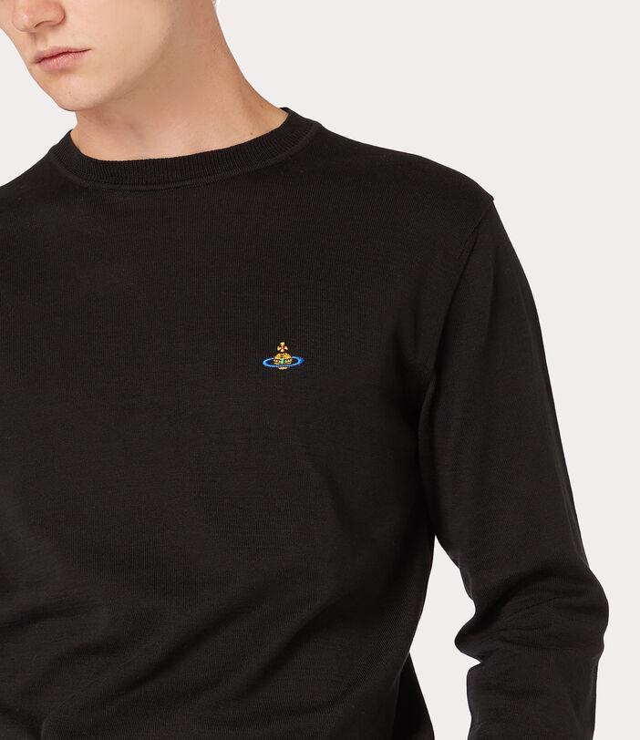 Classic Roundneck Sweater Black 5