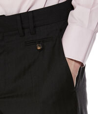 Classic Trousers Morning Stripe Black