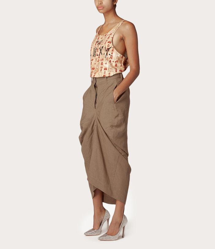 Spontanea Skirt Brown 2