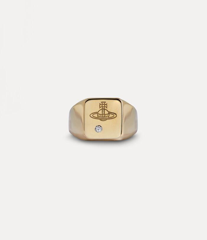 Carlo Ring Gold-Tone 1