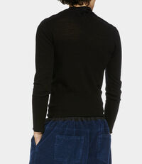 Polo Jumper Black