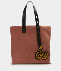 Alice Shopper Bag Orange