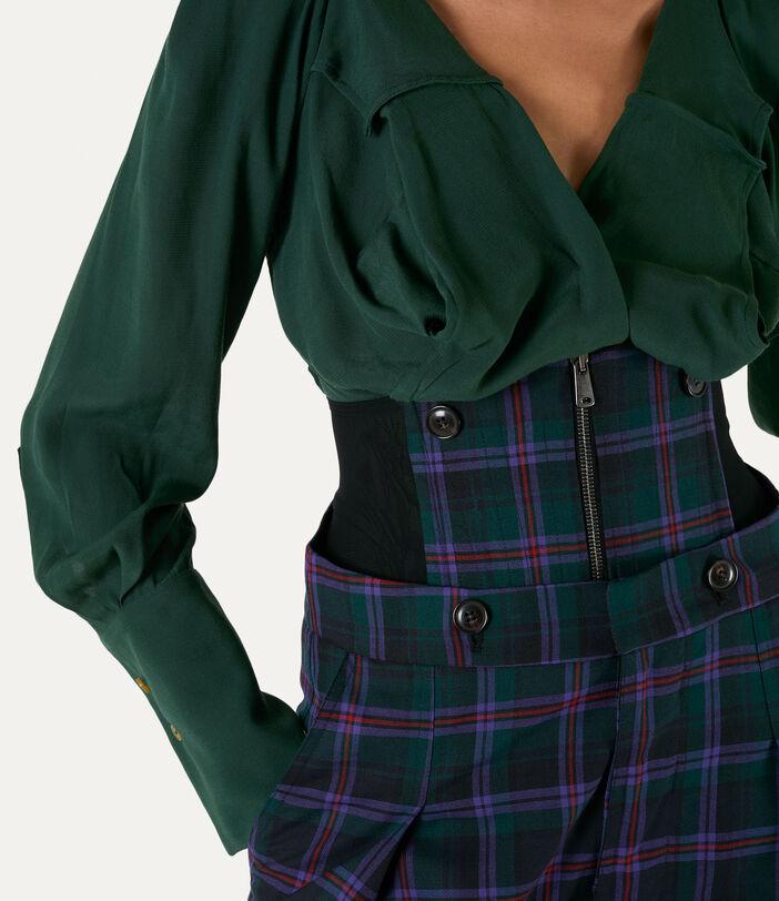 Corset Trousers Tartan 4