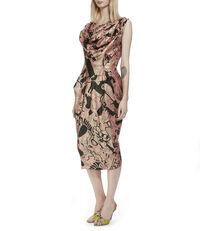 Wilma Frit Dress Pink