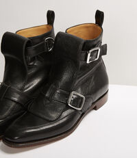 Seditionary Punk Boots Black