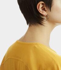 Small Rosemary Earrings Silver Tone