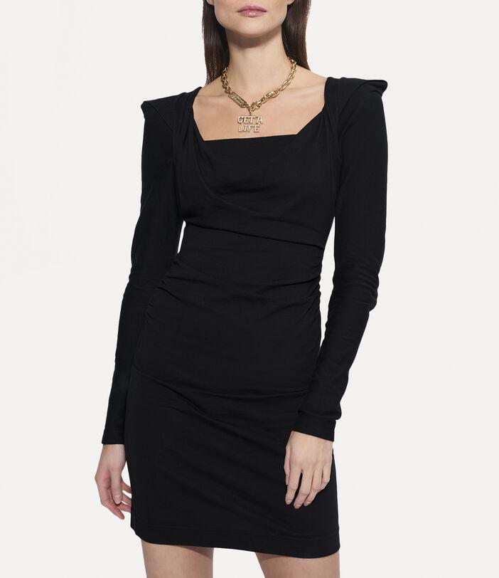 Elizabeth Jersey Dress Black 3