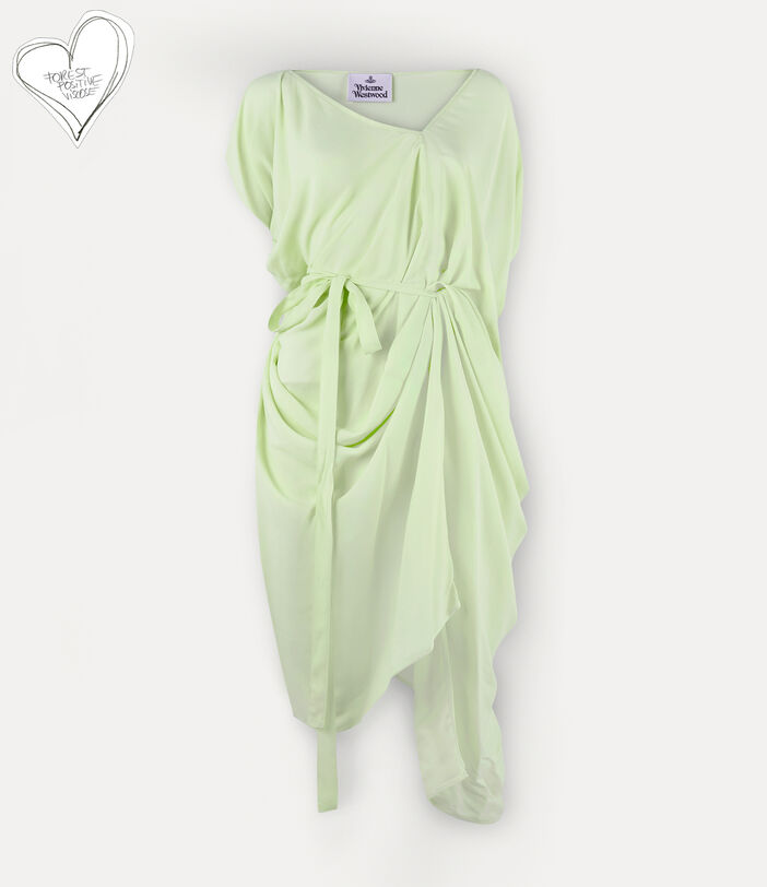 Johanna Dress Lime Cream 1