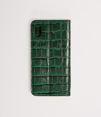 Iphone X Wallet Case With Flap Green