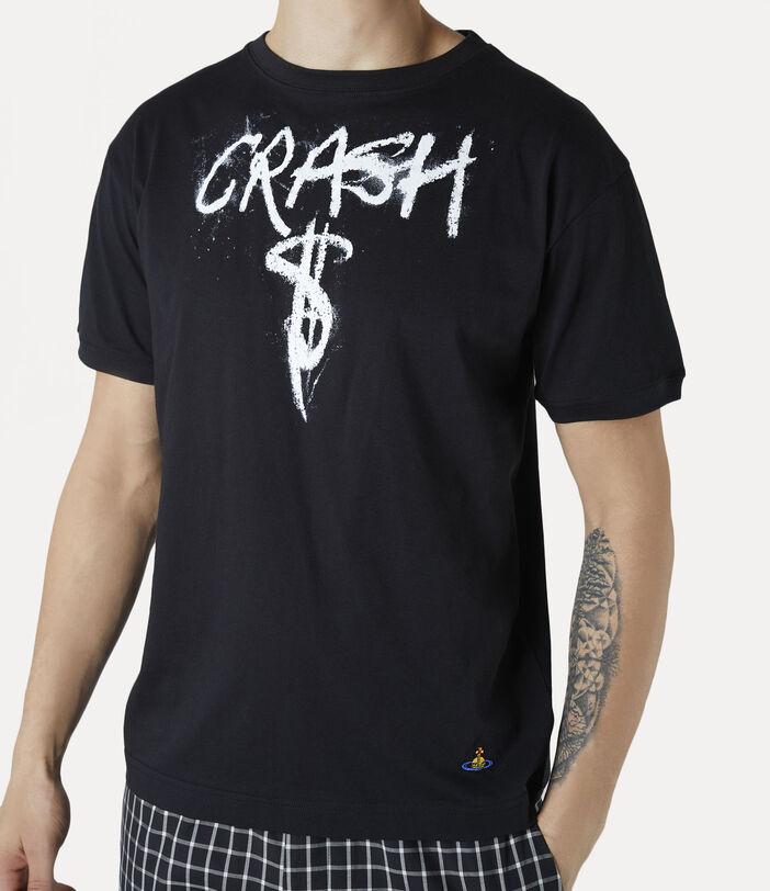 Man Crash T-Shirt Black 4