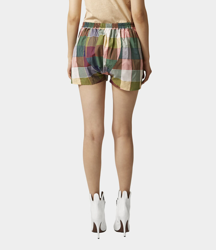 We Boxer Shorts Gingham Multi 4